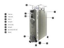 Máy sưởi dầu Tiross TS926-1 (TS-926-1) - 13 thanh sưởi