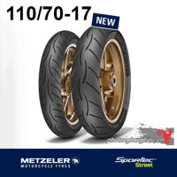 Metzeler Sportec Street 110/70-17  - Vỏ sau Yamaha Exciter 2011 độ, vỏ trước CB150R, CBR150R
