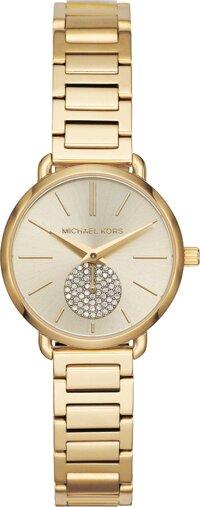 Michael Kors Portia MK3838 old-Tone Watch 28mm