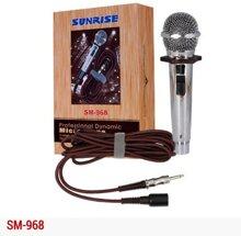 Micro karaoke có dây Sunrise SM-968