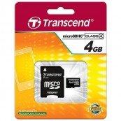 Thẻ nhớ Transcend Micro SDHC Class 4 - 4GB