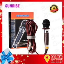 Micro karaoke có dây Sunrise SM-958