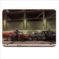 Mieng Dan Skin In Decal Danh Cho Laptop - Fast and Furious - Mau 19