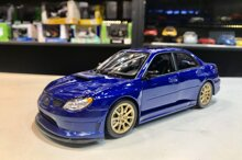 Mô hình xe Subaru Impreza Wrx Sti 1:24 Welly