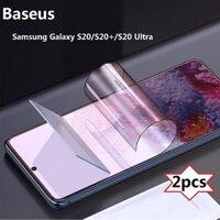 【Mới】 2 chiếc / gói Baseus Samsung Galaxy S20 S20 + 0.15mm Bảo vệ toàn màn hình 4K siêu mỏng / Samsung S20 Ultra Toàn màn hình cong chống nổ Màn hình mềm / Bảo vệ màn hình S20