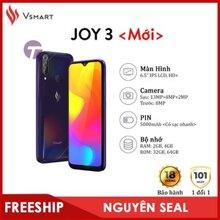 Điện thoại Vsmart Joy 3 - 4GB/64GB, 6.5 inch, 2 sim