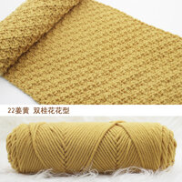 (Mua 5 Tặng 1) người Yêu Cotton Nam Nữ Tay Dệt Kim Khăn Dòng Móc Bằng Len Dày Len Nhóm Bán Buôn