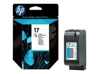 Mực in HP 17 Tri-color Ink Cartridge (C6625A)