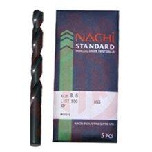 Mũi khoan trụ thép gió Nachi List500-0490 (4.9mm)