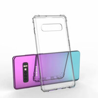 NEccxt Phone Case for Samsung Galaxy S10 Plus S10e S9 S8 Soft Casing Transparent Shockproof Ultra-thin Clear Cover TMFS