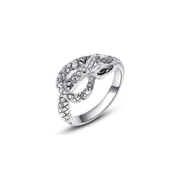 Nhẫn con rắn mạ vàng Hana Trade R0011 - màu RGP/WP