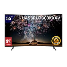 [Nhập ELSAMSUNG giảm 15%] Smart Tivi Samsung 4K 55 inch UA55RU7300KXXV