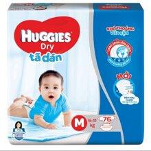 Tã dán Huggies size XL 62 miếng (trẻ từ 11 - 16kg)