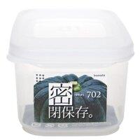 Nhật Bản Nguyên Đai Nguyên Kiện Nhựa Kín Hộp Thực Phẩm Hộp Thực Phẩm Hộp Cơm Phù Hợp Với Lò Vi Sóng Tủ Lạnh Đông Lạnh Hàng Khô Hộp