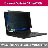 Nhỏ Inch Riêng Tư Lọc Chống Chói Cho Màn Hình Bảo Vệ Cho Notebook Laptop Cho Asus Zenbook 14 UX433FN