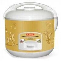 Nồi cơm điện nắp gài Honey's HO708-M18/ 1.8L màu Vàng