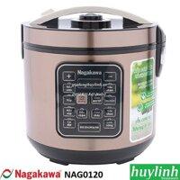 Nồi cơm điện tách đường Nagakawa NAG0120 - 1.8 lít