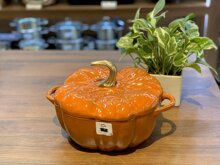 Nồi gang đúc Staub Pumpkin bí ngô 24cm