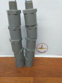Nối ren ngoài nhựa 21 ống 27 Bình Minh( 10 cái )
