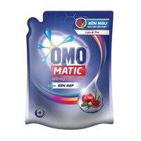 Nước Giặt Omo Matic Bền Đẹp Lựu Và Tre Cho Máy Giặt Cửa Trước Dạng Túi 2.3kg