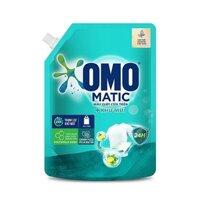 Nước Giặt Omo Matic Cửa Trên Khử Mùi Bạc Hà & Chanh Túi 2kg