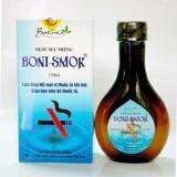 Nước Súc Miệng Boni Smok Hỗ Trợ Cai Thuốc Lá 250ml