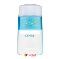 Nước tẩy trang mắt môi L'Oreal 125ml, rửa sạch lớp trang điểm mắt, môi cả son, mascara, dưỡng da