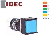 Nút nhấn vuông Idec Izumi AL6Q-A14YC