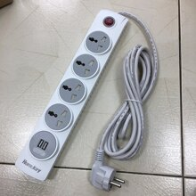 Sạc ô tô Huntkey 5V 2.1A dành cho Pod/iPhone/iPad (kèm cable )