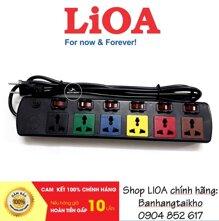 Ổ cắm Lioa 6DOF32N (6DOF32WN) - 3mx2