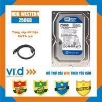Ổ cứng HDD WD Blue 250GB - Nhập khẩu từ Nhật Bản Hàn Quốc - Bảo hành 12 tháng