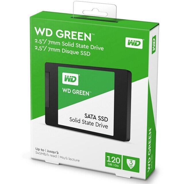 O cung SSD 120GB Western Digital WD Green 2.5-Inch SATA III