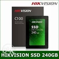 O cung SSD HIKVISION C100 240GB, Chinh hang, Toc do cuc cao (Read: 550 Mb/s, Write: 500 Mb/s)