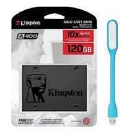 Ổ Cứng SSD Kingston A400 120GB - Hàng Chính Hãng  Tặng Đèn Led