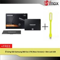 Ổ Cứng SSD Samsung 860 Evo 1TB (New Version) + Đèn Led USB
