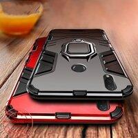 Ốp điện thoại chống sốc kèm giá đỡ nhẫn cho VIVO V17 Pro OPPO K5 Realme ACE X2 Pro Samsung A9 5G A70s