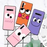 Ốp điện thoại cứng hình biểu cảm vui nhộn cho Samsung Galaxy Note 3 4 5 8 9 10 Plus