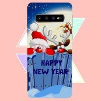 Ốp điện thoại dành cho máy Samsung Galaxy S10 Plus - Giáng sinh an lành ấm áp MS GSANAA021