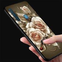 Ốp điện thoại Samsung Galaxy M20 - Gold Roses MS RSD013