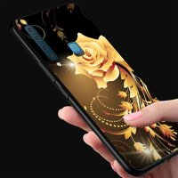 Ốp điện thoại Samsung Galaxy M20 - Gold Roses MS RSD003