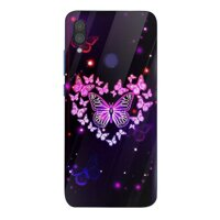 Ốp kính cường lực cho điện thoại Xiaomi Mi A2 - bướm đẹp MS BUOMD005