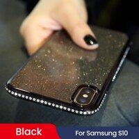 Ốp Lưng Cho Samsung Galaxy S10 Plus S10 E Vỏ Điện Thoại Cho Galaxy S10 + Ốp Lưng Kim Cương Lấp Lánh Lấp Lánh Ốp Bảo Vệ Mềm Mại