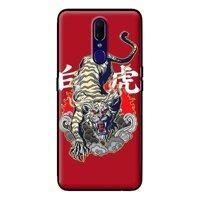 Ốp lưng điện thoại Oppo F11 Pro - Hổ Nền Đỏ MS 3T709