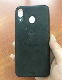Ốp lưng hươu điện thoại Samsung galaxy M20 giả da lộn cực chất