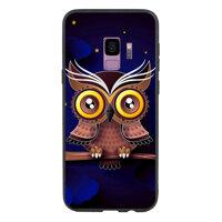 Ốp Lưng Viền TPU Cao Cấp Dành Cho Samsung Galaxy S9 - Cú đêm
