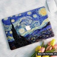 Ốp Macbook Hình Starling Night Đủ Dòng (Tặng Kèm Phủ Phím Và Set Nút Chống Bụi)