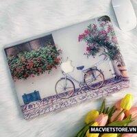 Ốp Macbook Hình Xe Đạp Đủ Dòng (Tặng Kèm Phủ Phím Và Set Nút Chống Bụi)