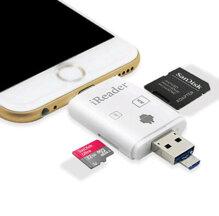 Đầu đọc thẻ nhớ iReader OTG cho iPhone, iPad