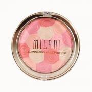 Phan ma hong kiem highlight Milani Illuminating Face Powder