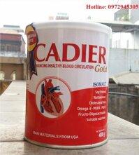 Phan phoi sua tim mach va tieu duong  Cadier gold